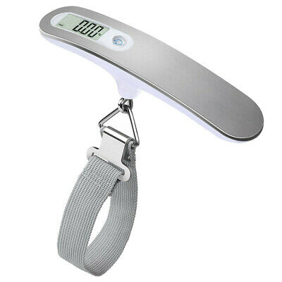 US Portable Travel 110lb / 50kg Digital Hanging Luggage Scale Electronic Weight