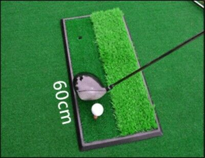Green Removable Artificial Turf Indoor Skid Resistance Golf Practise Mat