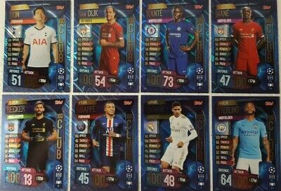 Match Attax 2019/20 UEFA Champions League 100 Club HAT-TRICK HEROES Card SINGLES