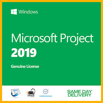 MICROSOFT Project 2019 Professional Product Key 🔐 New Activation License 🔐