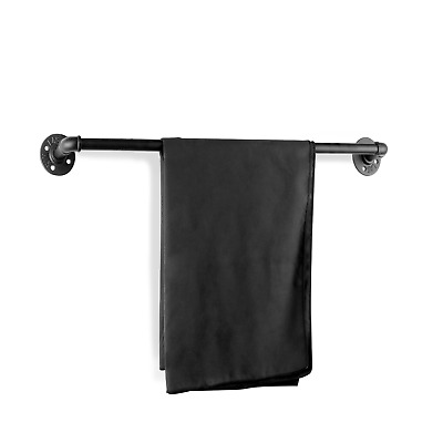Pipe Towel Rail | Towel Holder | Industrial Rustic Decor | Fixings Included | M&