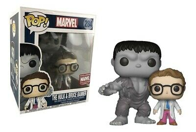Funko POP! (1st App) Hulk & Bruce Banner #284 - Marvel Collector Corps Exclusive