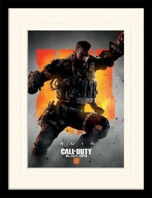 VIDEO GAME 17001 CALL OF DUTY BLACK OPS 4 22x34 RUIN POSTER