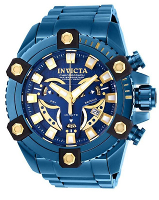 Invicta Grand Octane BLUE LABEL Coalition Forces 63mm Chronograph Watch 27741