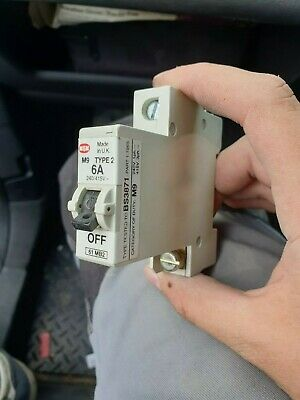 MEM/Delta/Eaton M9 Type B/C/2 Circuit Breakers (Single+3 Phase)