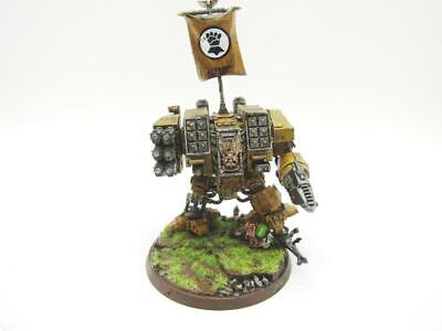 (w2299) Ironclad Dreadnought Imperial Fists Space Marines Adeptus Astartes 40k W