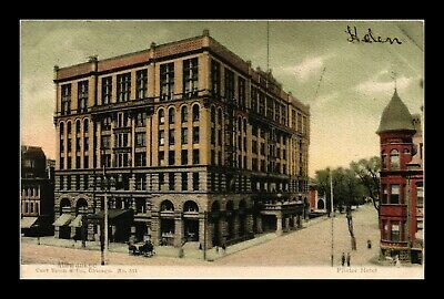 Dr Jim Stamps Us Pfister Hotel Milwaukee Wisconsin Postcard 1905