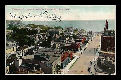 Dr Jim Stamps Us General Lake View Milwaukee Wisconsin Postcard