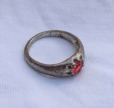 Extremely Ancient Rare Ring Artifact Leognary Berber Old Stone Museum Quality
