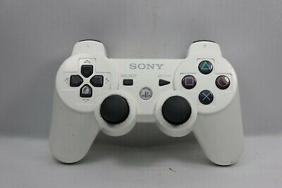 Official OEM Sony PS3 Wireless Dualshock 3 Controller White PlayStation 3