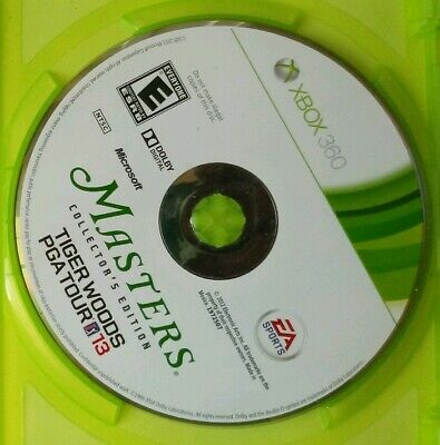 Xbox 360 Tiger Woods PGA Tour 13: The Masters - Collector's Edition Disc Only