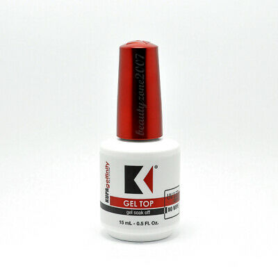 Kupa Gelfinity Gel TOP COAT No Wipe UV/LED Cure Soak Off 0.5oz