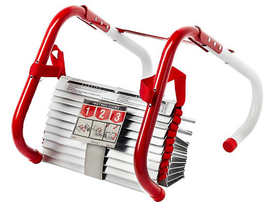 Portable Emergency Fire Escape Ladder Rope Metal Life Home Window