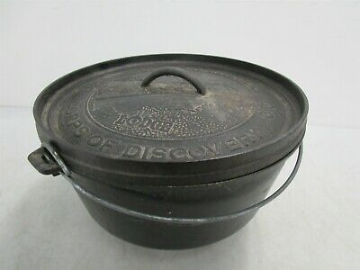 Lewis & Clark Corps of Discovery Lodge Cast Iron Dutch Oven