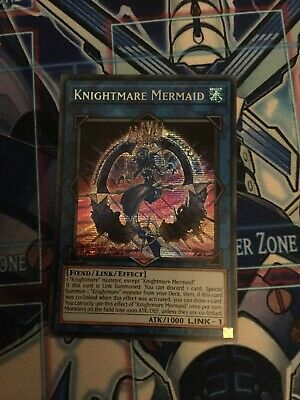 YuGiOh! 2019 GOLD SARCOPHAGUS TIN MEGA PACK  Knightmare Mermaid