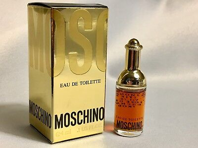 MOSCHINO Perfume WOMENS Eau De Toilette 4ml miniature AUTHENTIC, VINTAGE, *NICE*