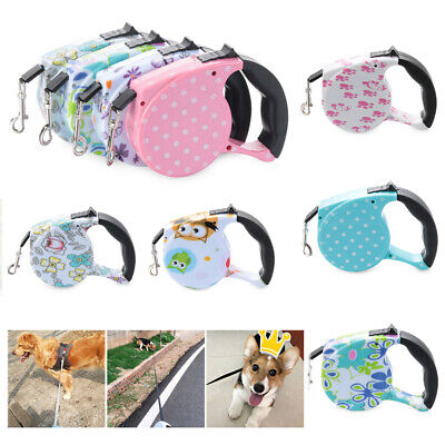 Collar Retractable Pet Supplies Dog Leash Lead Walking Training Traction Rope