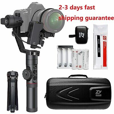 Zhiyun Crane 2 3-Axis Handheld Stabilizer Gimbal w/Follow Focus For DSLR camera