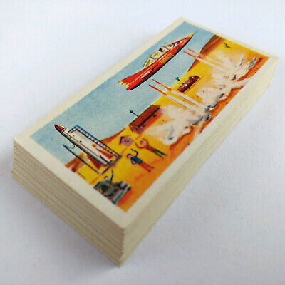 "1962 UK Como Confectionery SERIES II ""SUPERCAR"" SET OF 25 CARDS Gerry Anderson"