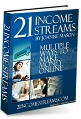 21 Income Streams eBook PDF with Bonus eBooks Resell Rights Free Shipping