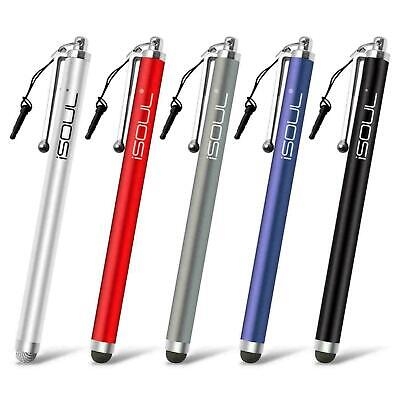 5 Pack - Touch Screen Stylus Touch Pen Rubber Tip for Android Mobile Phones