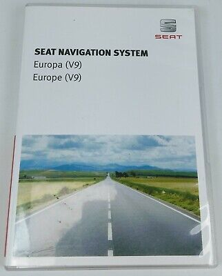 New Genuine Seat Leon 5F Navigation System V9 Europe Sd Card Activation Update
