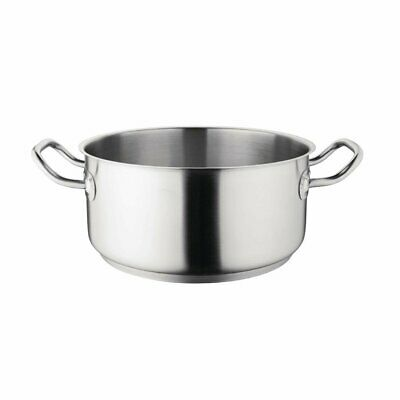 Vogue Heavy Duty Stainless Steel Casserole Pans Catering Commercial Cookware