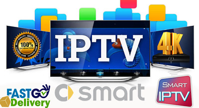 IPTV SUBSCRIPTION 12 MONTHS with 12000+CH US,UK, all *EUROPE* ARABIC AFRICAN