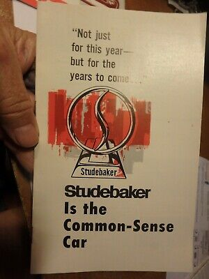 dealers STUDEBAKER  1964 ?? brochure 12 pages- The Common sense car