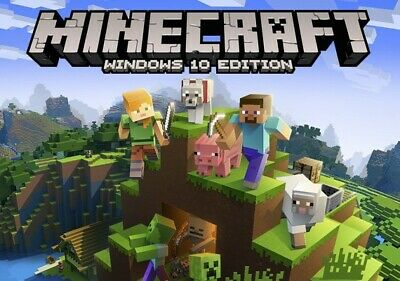 Minecraft Windows 10 Edition Key Gift Pc Cd Code Global Game Games [REGION FREE]