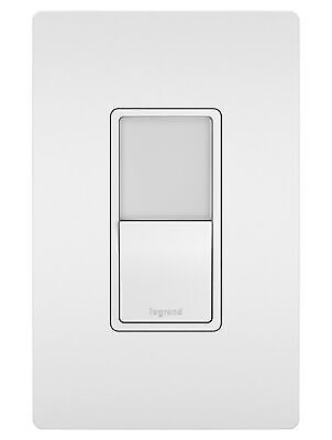 Legrand NTL873  Radiant Switch and Nightlight Wall Control - White