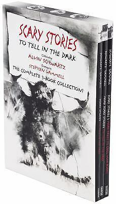Scary Stories Paperback Box Set: The Complete 3-
