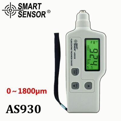 Film Coating car paint Thickness Gauge meter Car-detector Measuring Range 0-1800