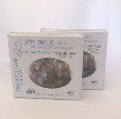 Lynn Dralle Ebay Boot Camp in a Box 2010 How to Sell on Ebay 11 DVD Set