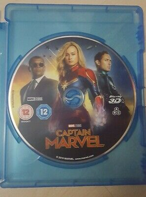 Captain MARVEL  3D Blu-RayDisc Only . Never watched .