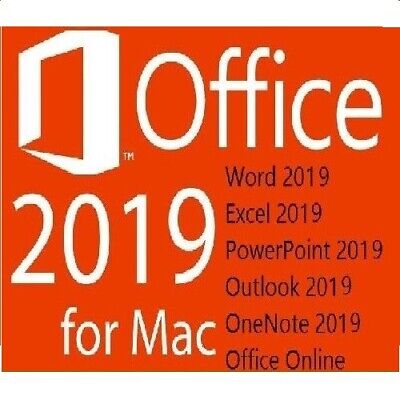 MS Office 2019 Home and Business für MAC / Standard / via E-Mail / 1 Mac