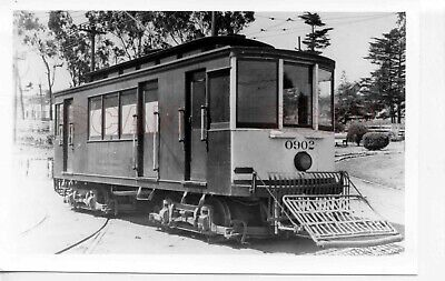 9EE817 RP 1929/1960s? SF MARKET STREET RAILWAY MONEY CAR #0902 ELKTON SHOPS 1929