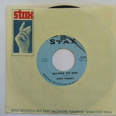 Rufus Thomas -- Walking The Dog / Fine & Mellow -- Stax S-140 -- Near Mint