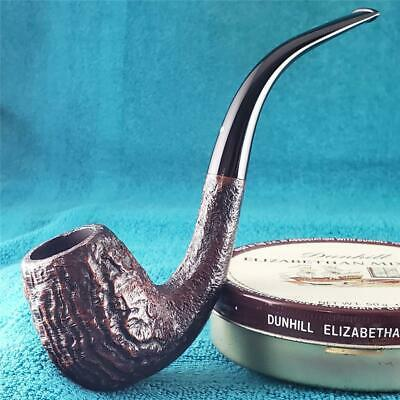 PATENT ERA! 1951 Dunhill SHELL BRIAR RARE KM SHAPE 3/4 BENT ENGLISH Estate Pipe