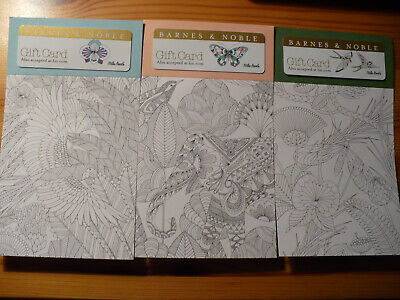 Barnes & Noble gift card lot for collection (3)
