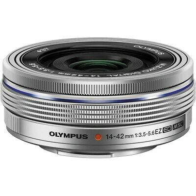 Olympus M.Zuiko ED 14-42mm f/3.5-5.6 EZ Lens Silver - Retail Packing TT