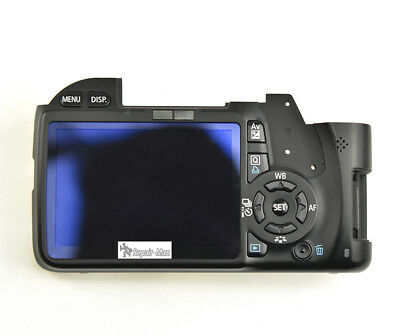 550D Rear Back Cover Camera Repair Parts For Canon