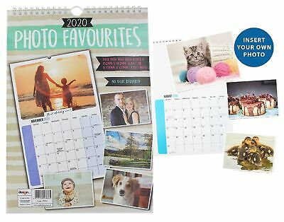 PERSONALISE Your Calendar 2020 with Your Own Photos Each Month Calender New Year