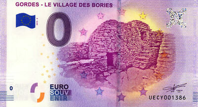 84 GORDES Le village des bories 2, 2019, Billet 0 € Souvenir