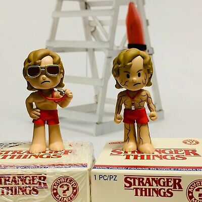 Funko Mystery MIni Stranger Things 3 Billy Hot Topic and Flayed Billy Funko