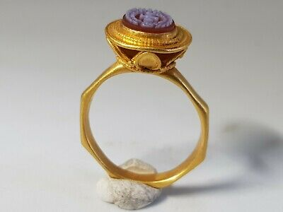Late Medieval- Byzantine  Gold Ring 15en-17en century AD