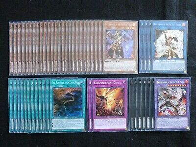 Yu-Gi-Oh 51 Card Brotherhood Of The Fire Fist Deck  *Ready To Play*
