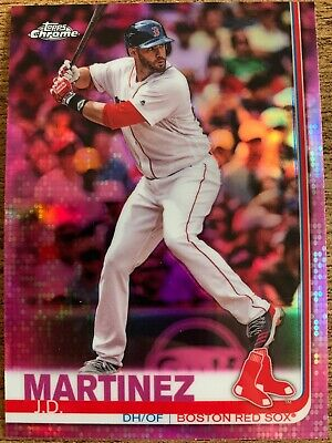 2019 Topps Chrome Pink Refractor Pick Your Player