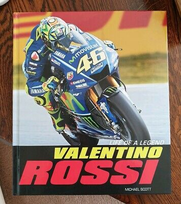 Life Of A Legend - Valentino Rossi - Signed - VERY RARE