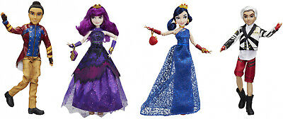 Disney Descendants Isle of the Lost 4-Pack: Mal, Evie, Carlos, and Jay